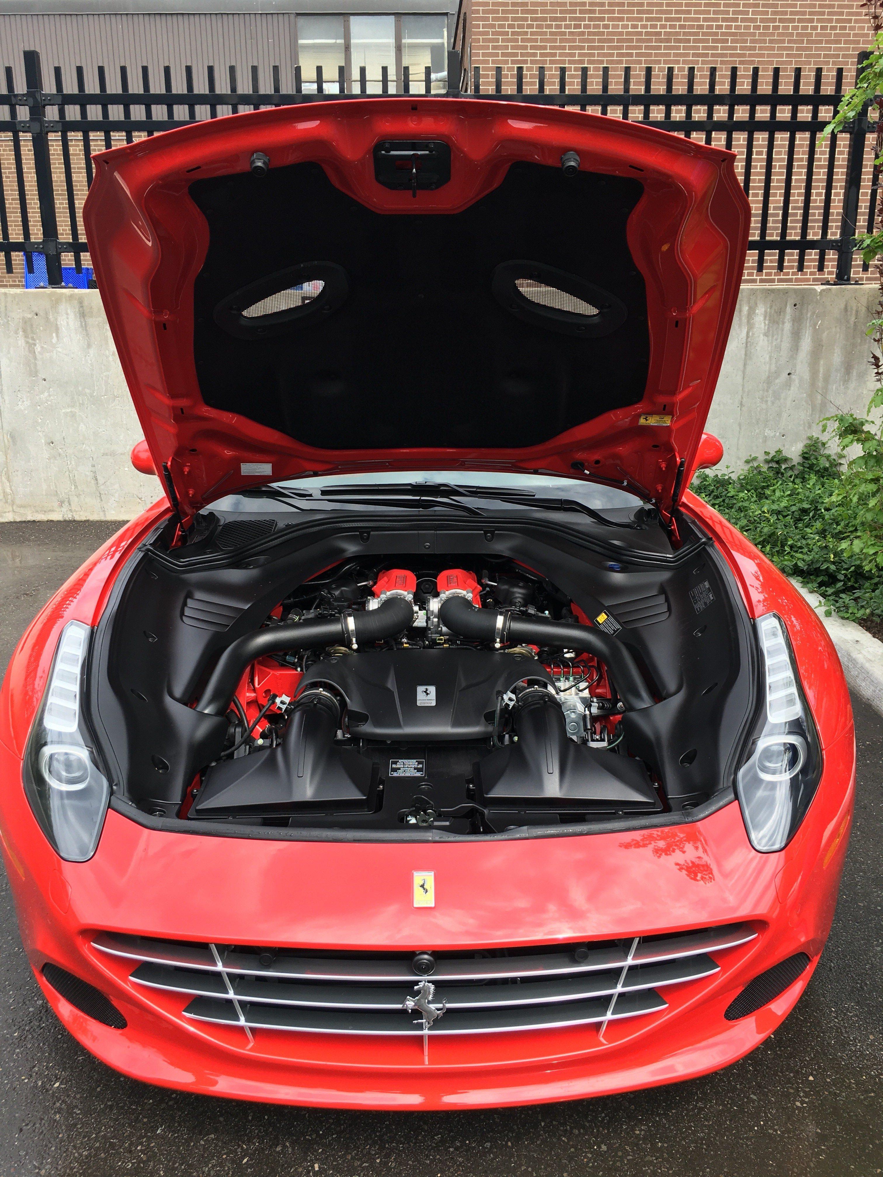 Open The Hood Of A Ferrari California T Lk Wealth Management
